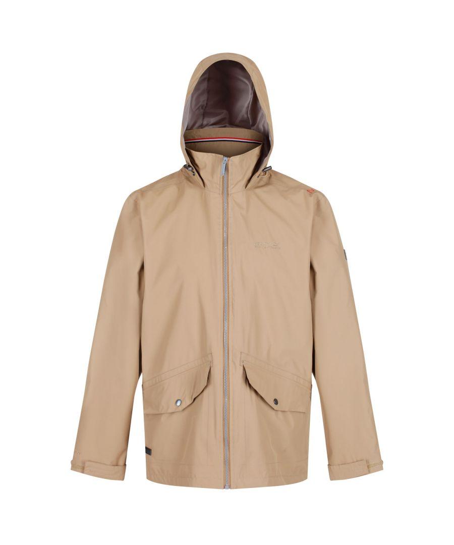 Image for Regatta Mens Hartigan Waterproof Hooded Jacket