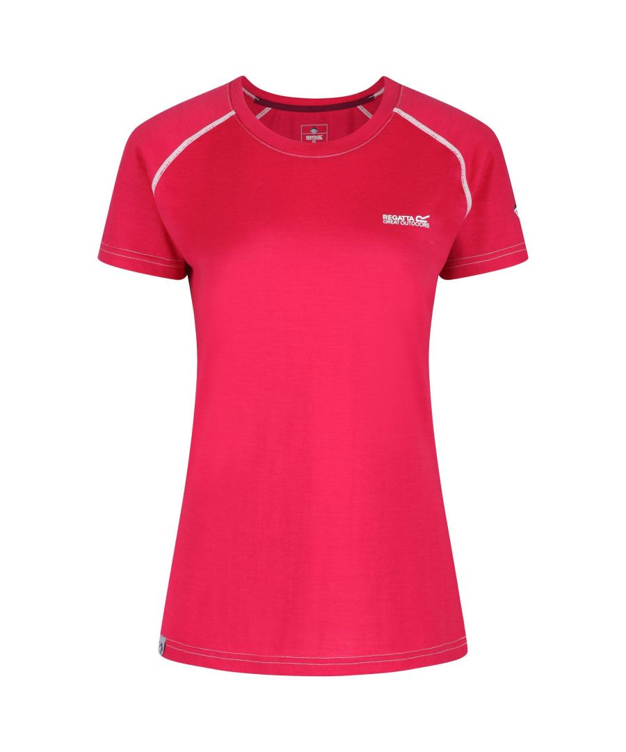 Image for Regatta Womens/Ladies Tornell Wicking Active T Shirt