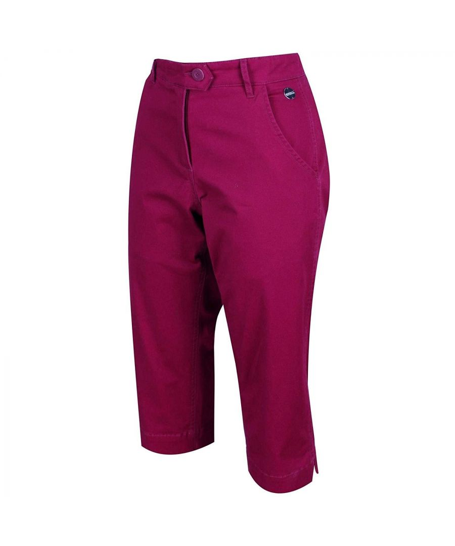 Image for Regatta Womens/Ladies Maleena II Casual Capri Trousers