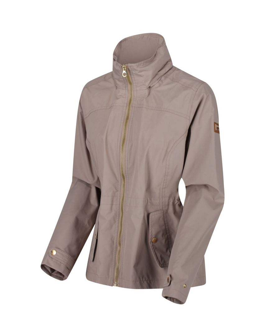 Image for Regatta Womens/Ladies Laurenza Waterproof Hooded Jacket