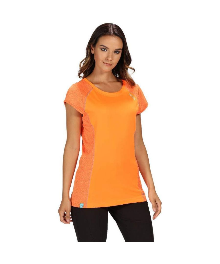 Image for Regatta Womens/Ladies Hyper-Reflective II Wicking T-Shirt