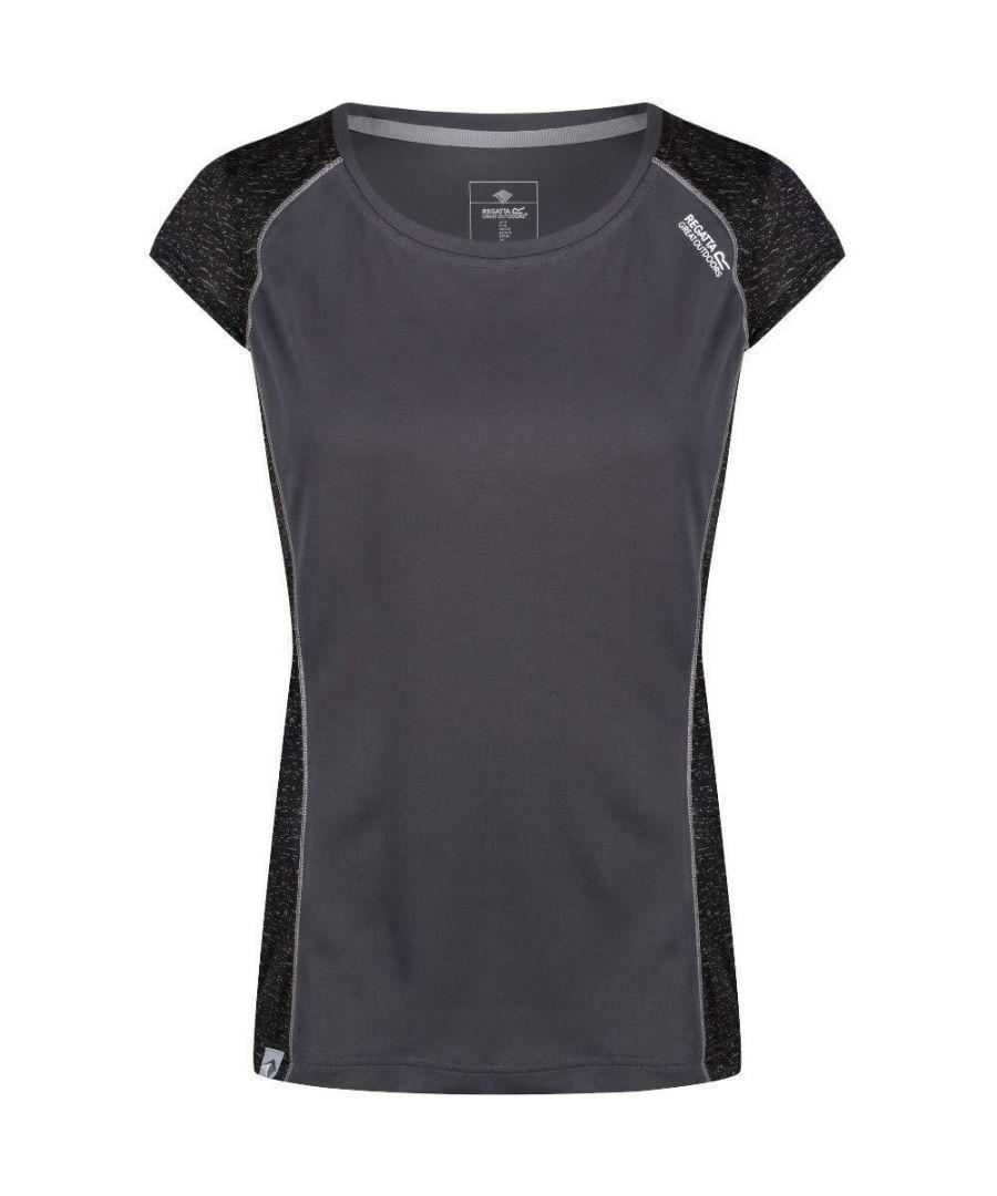 Image for Regatta Womens/Ladies Hyper-Reflective II Wicking T-Shirt
