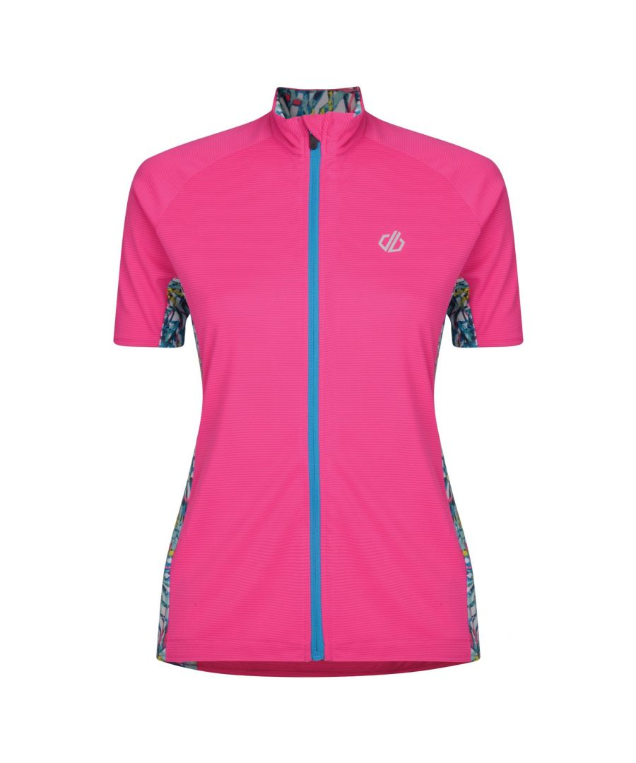 Image for Dare2b Womens/Ladies Expound Short Sleeve Cycle Jersey
