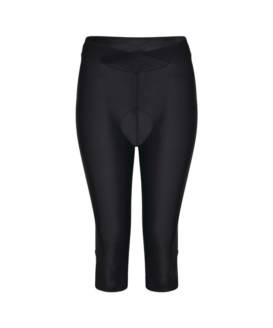Image for Dare 2B Womens/Ladies Worldly Capri Cycle Leggings (Black)