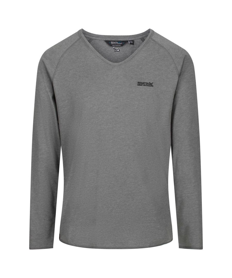 Image for Regatta Mens Long Sleeve T-Shirt