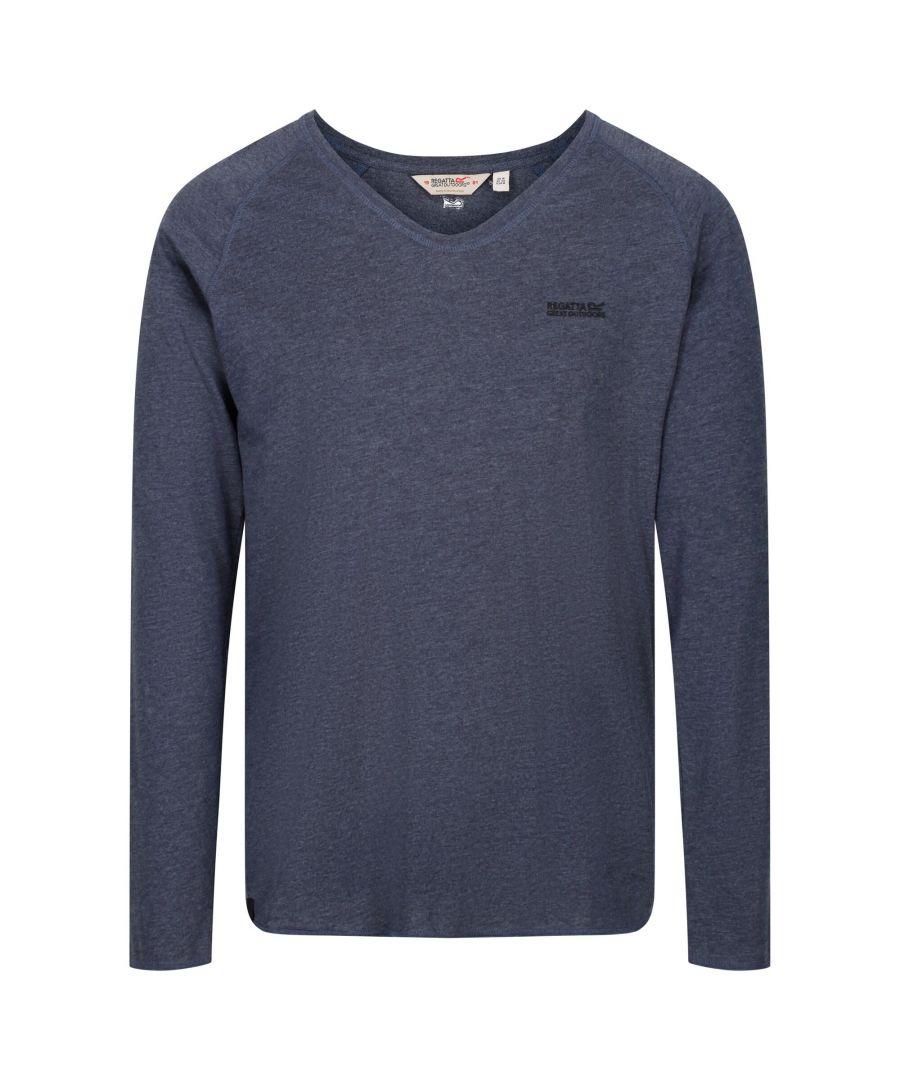 Image for Regatta Mens Long Sleeve T-Shirt