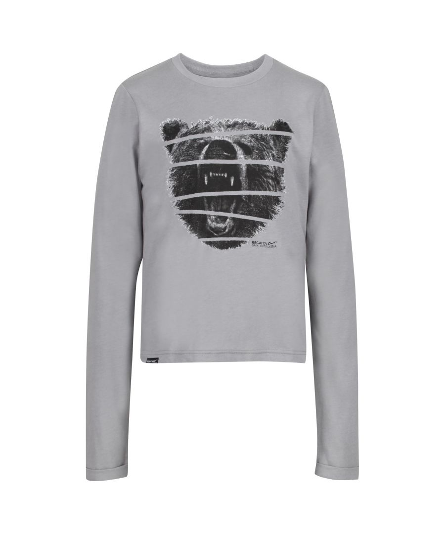 Image for Regatta Childrens/Kids Wendell Cosmic Print Sweatshirt