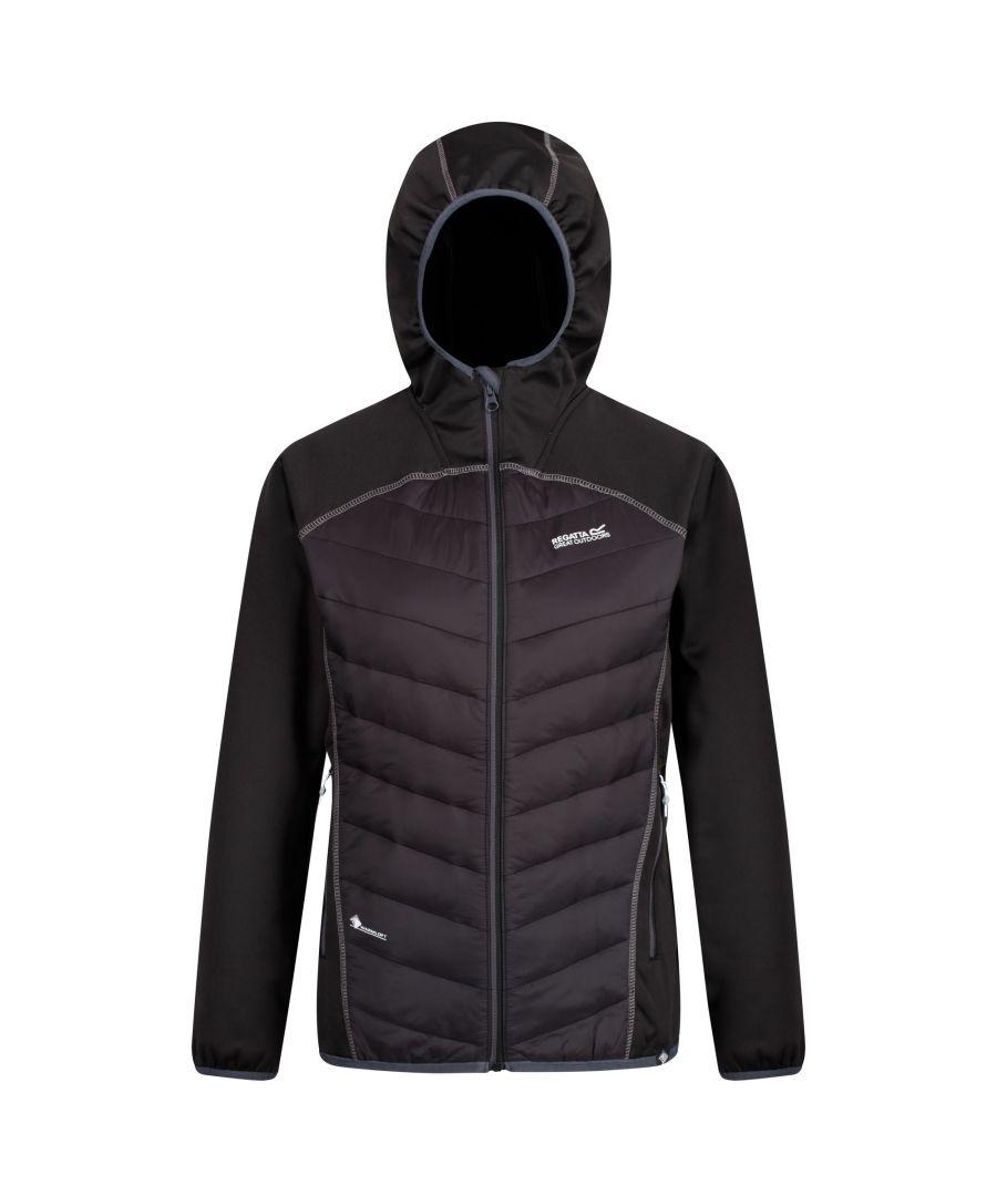 Image for Regatta Womens/Ladies Andreson IV Lightweight Hooded Hybrid Jacket