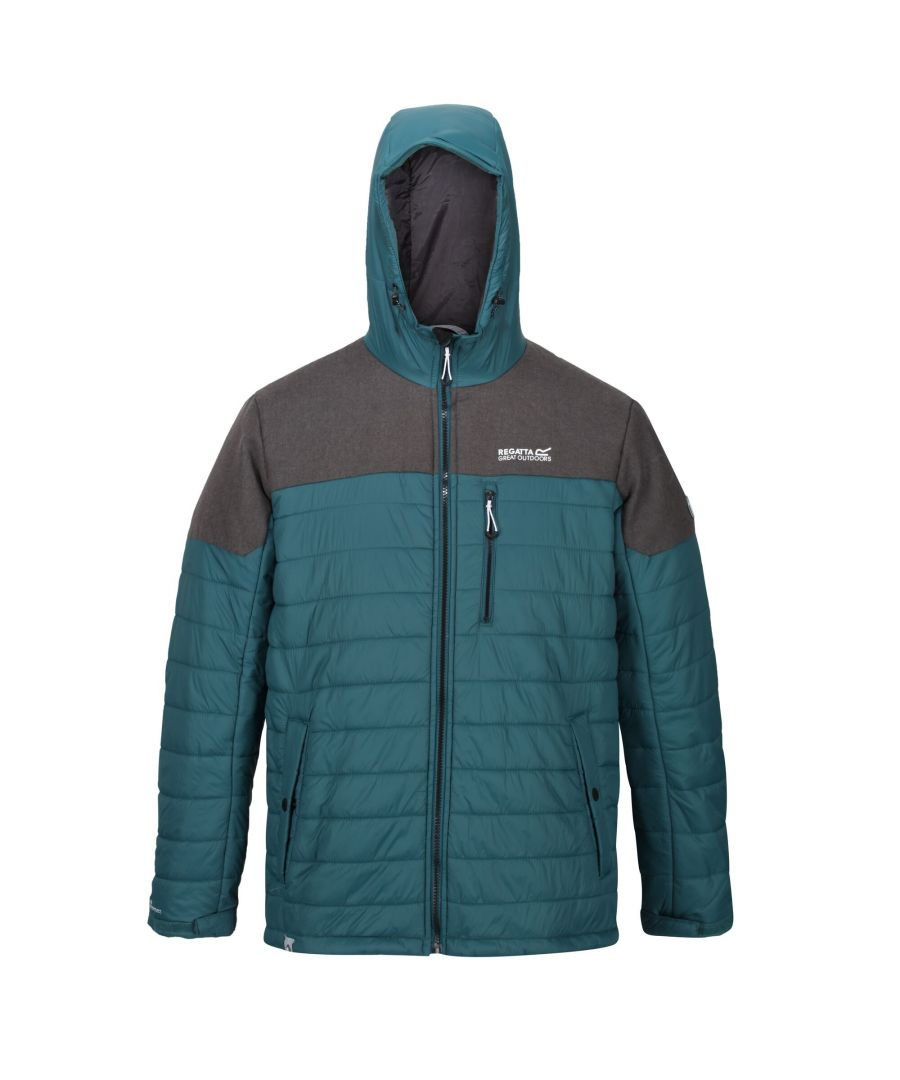 Image for Regatta Mens Orton Hooded Baffle Jacket