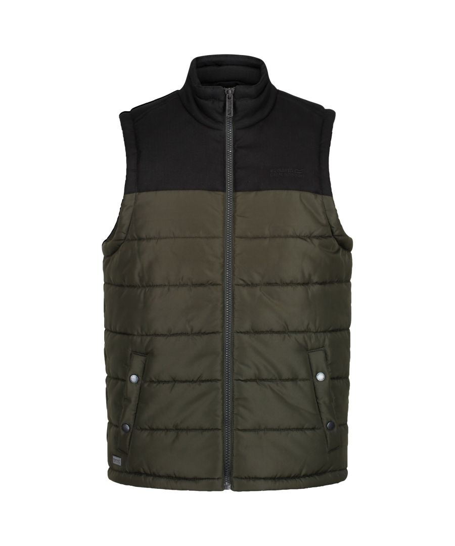 Image for Regatta Mens Hadley II Quilted Bodywarmer