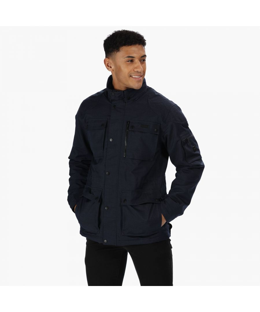 Image for Regatta Mens Erving Jacket With Concealed Hood