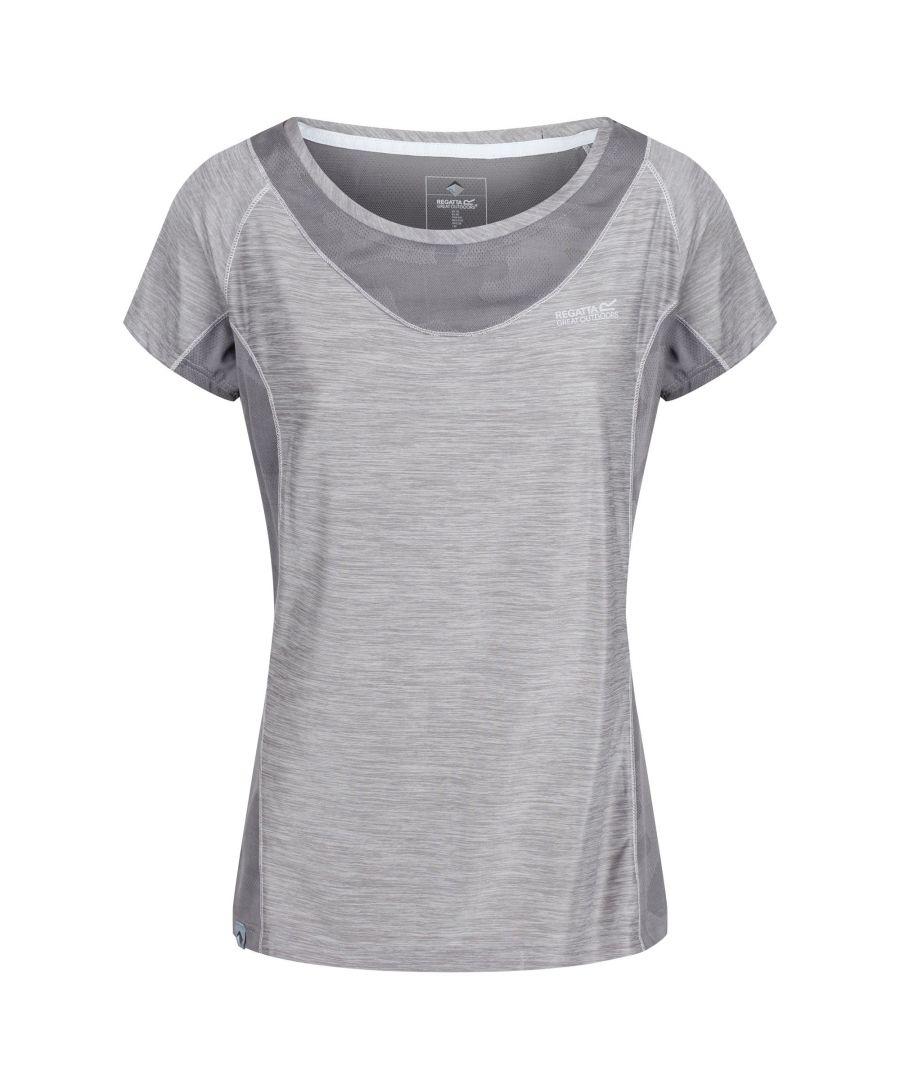 Image for Regatta Womens/Ladies Breakbar IV Breathable T-Shirt