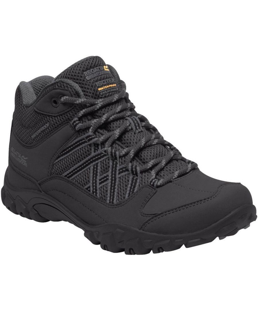 Image for Regatta Womens/Ladies Edgepoint Waterproof Walking Boots