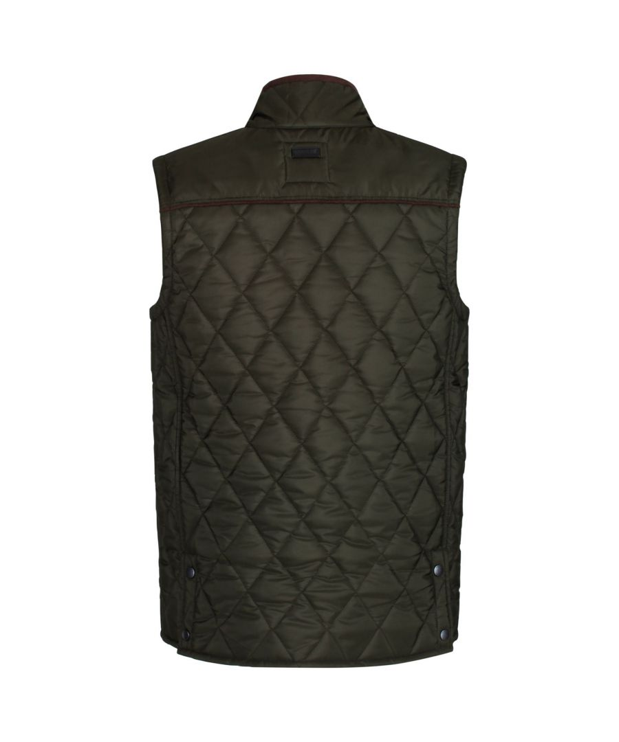 Image for Regatta Mens Lander Quilted Bodywarmer