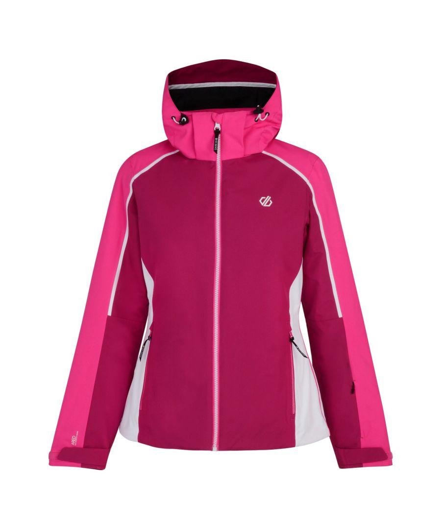 Image for Dare 2b Womens/Ladies Comity Ski Jacket (Fuschia/Cyber Pink)