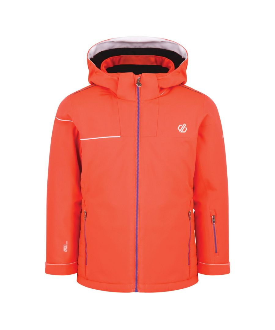 Image for Dare 2B Childrens/Kids Entail Ski Jacket (Fiery Coral)