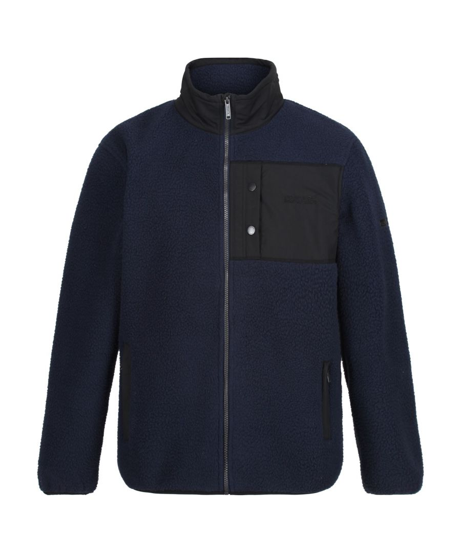 Image for Regatta Mens Cayo Heavyweight Full Zip Fleece Jacket
