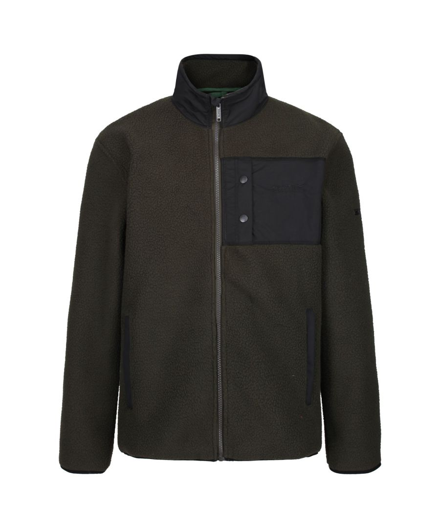 Image for Regatta Mens Cayo Heavyweight Full Zip Fleece Jacket