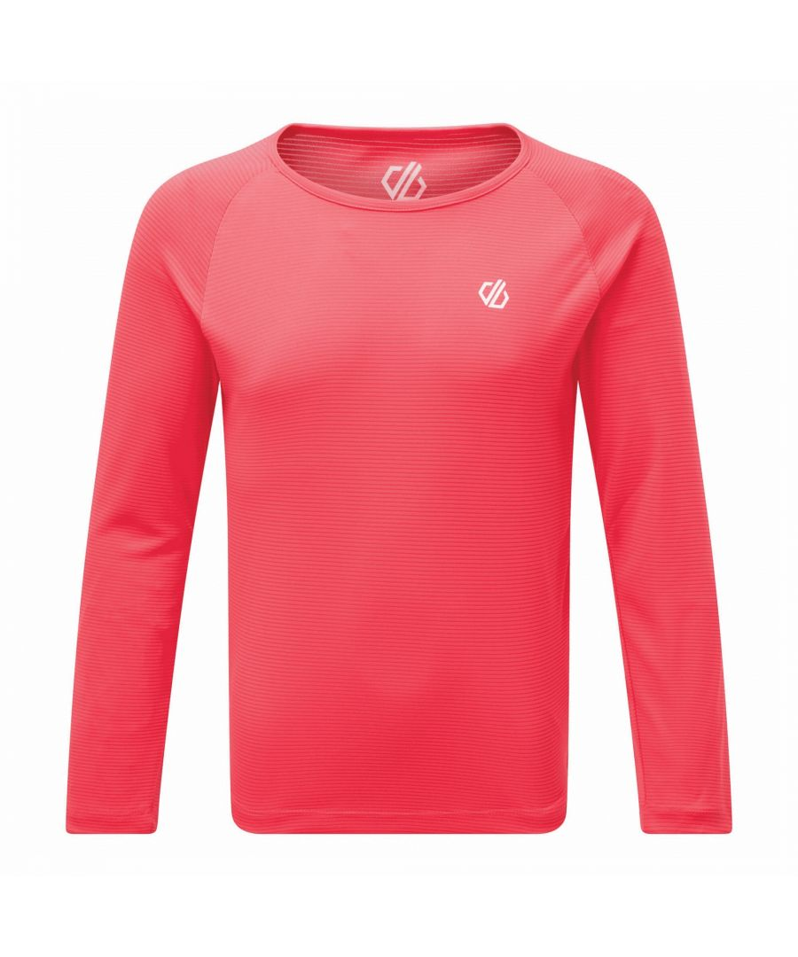 Image for Dare 2B Childrens/Kids Elate Base Layer Set (Neon Pink)