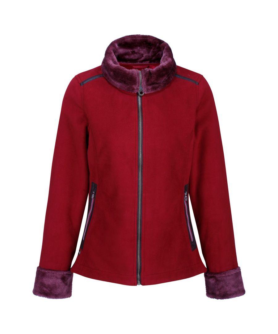 Image for Regatta Womens/Ladies Benedetta Heavyweight Fleece Jacket