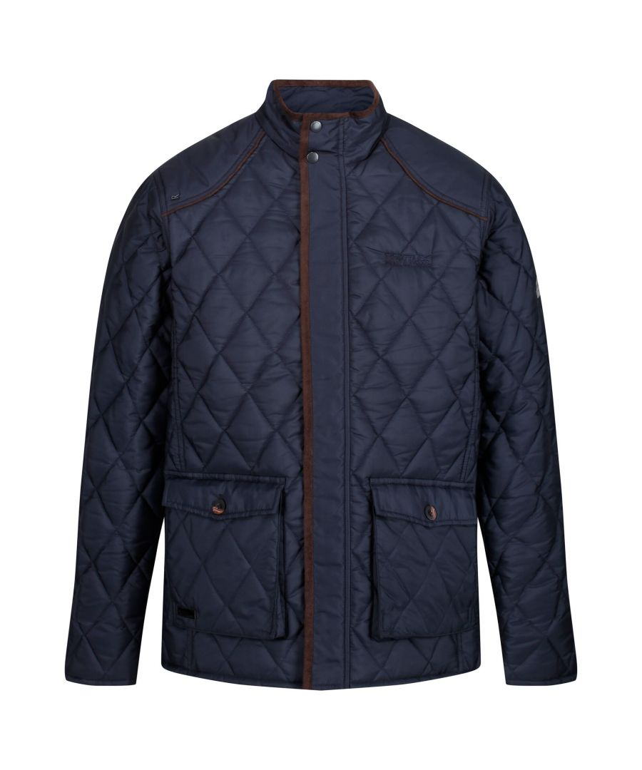 Image for Regatta Mens Lander Quilted Jacket