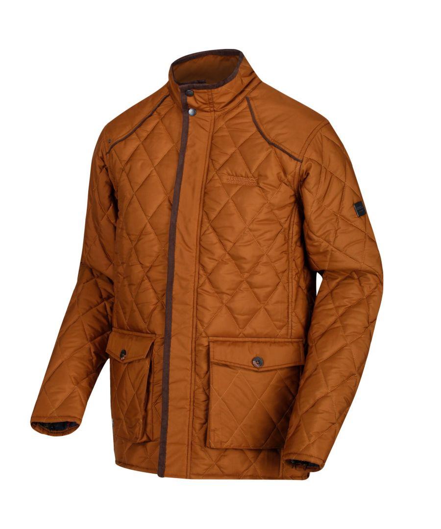 Image for Regatta Mens Lander Quilted Jacket