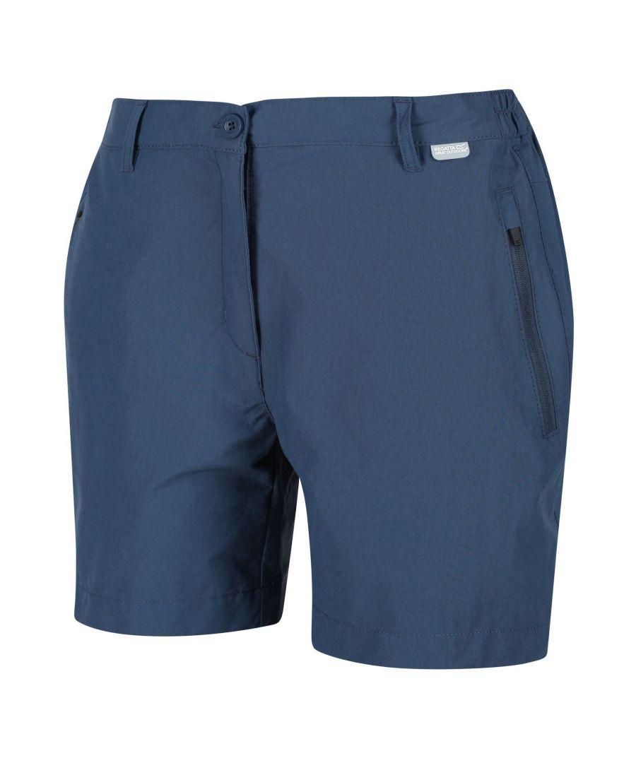 Image for Regatta Womens/Ladies Highton Mid Walking Shorts (Dark Denim)