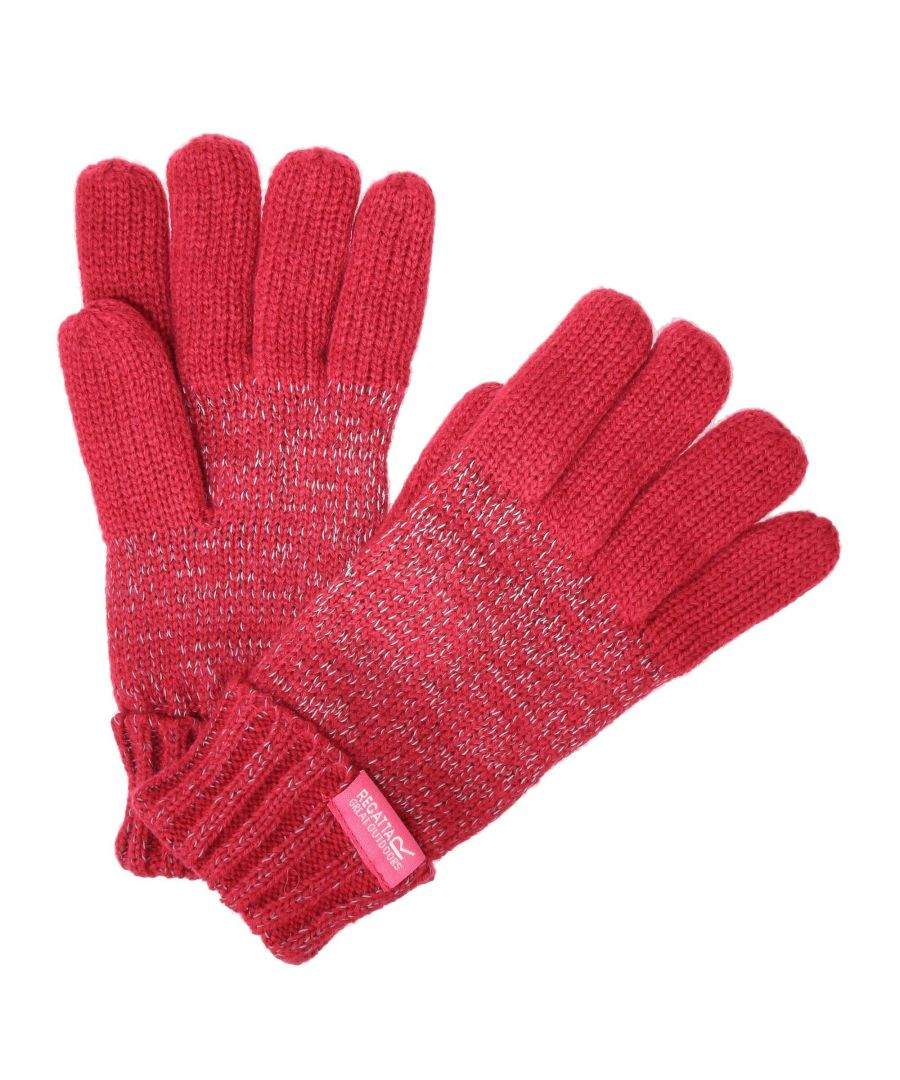 Image for Regatta Kids Unisex Luminosity Gloves (Pink)