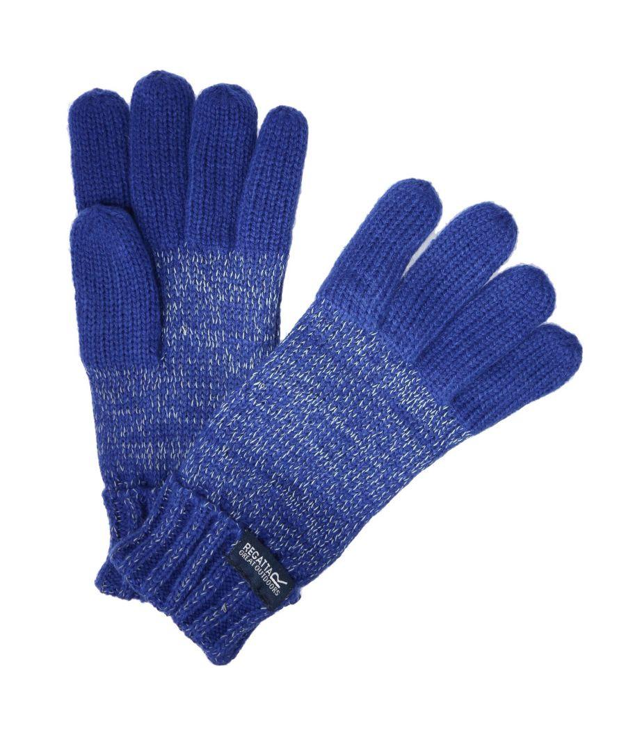 Image for Regatta Kids Unisex Luminosity Gloves (Blue)