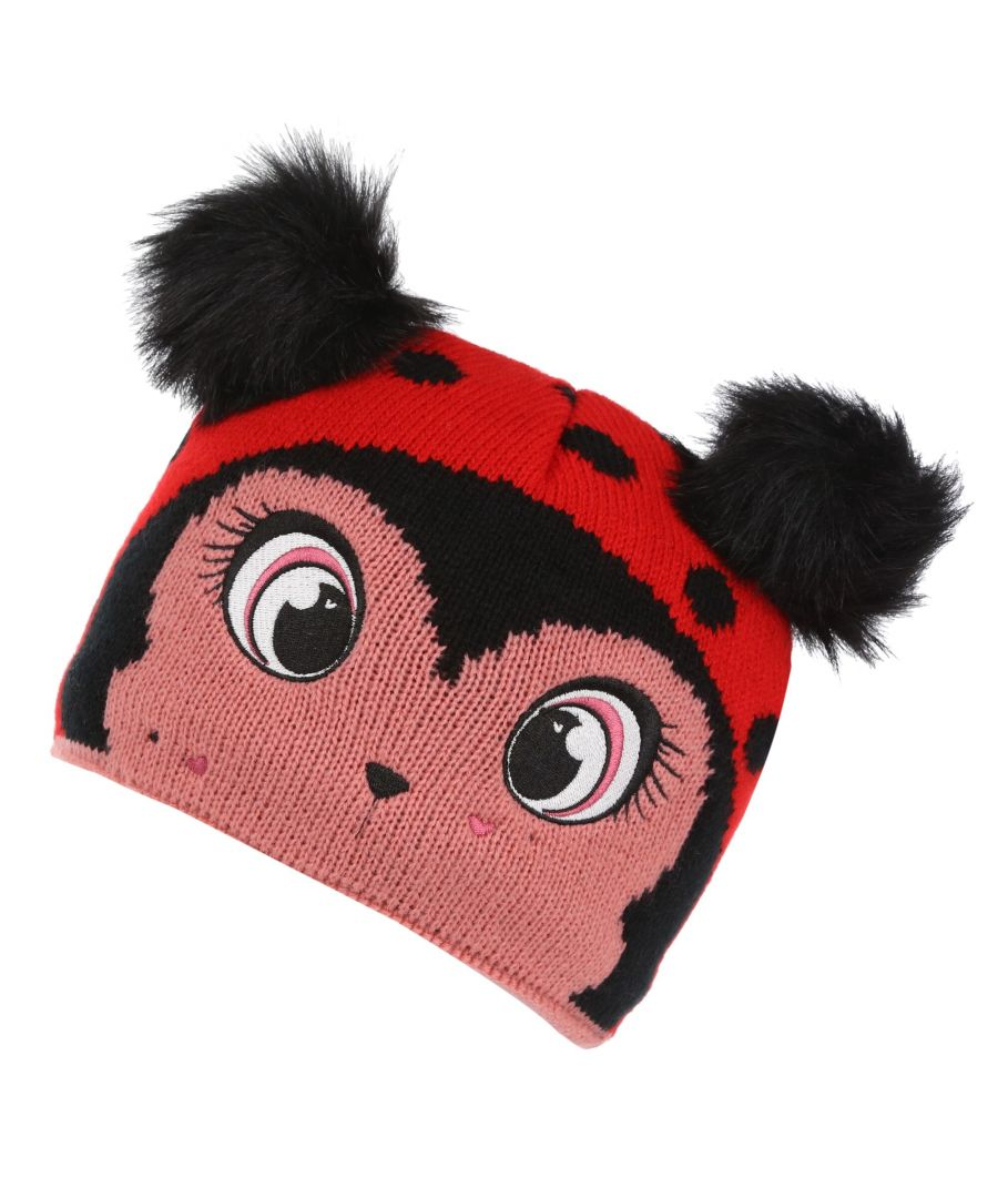 Image for Regatta Great Outdoors Childrens/Kids Animally III Beanie Hat (Multicoloured)
