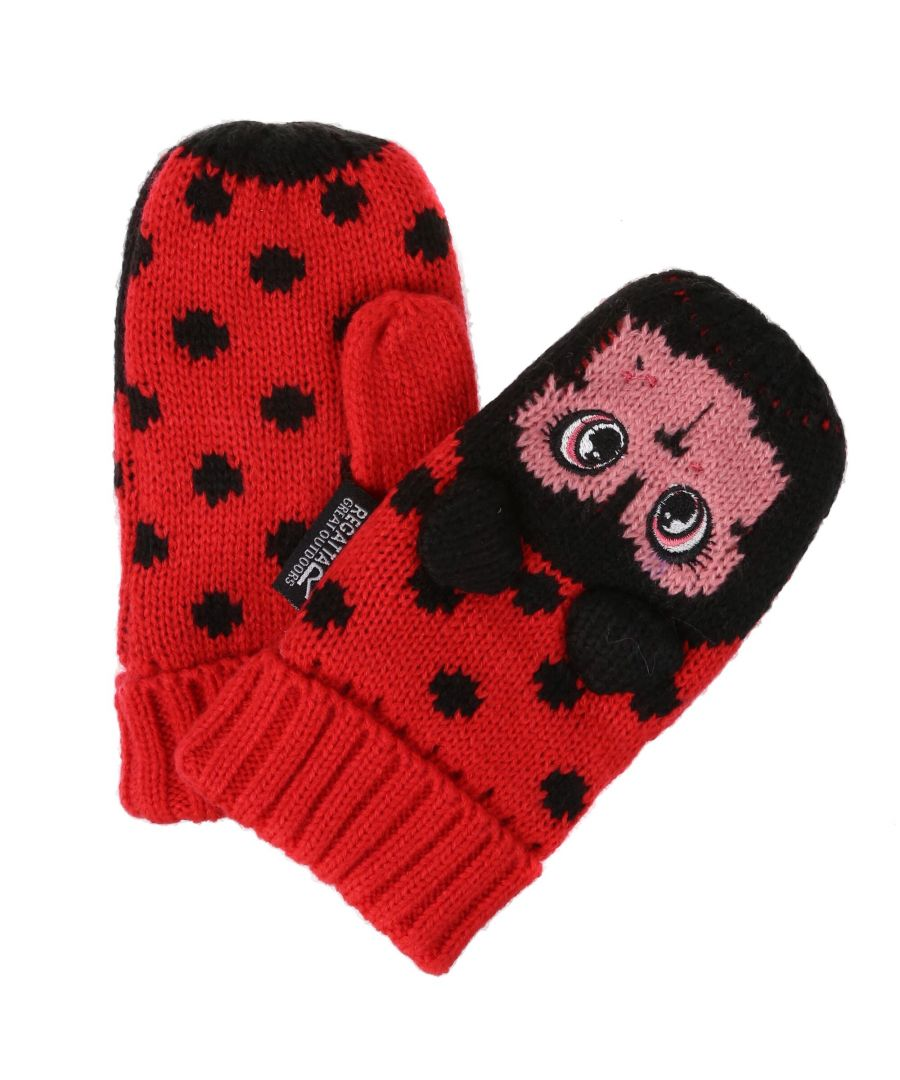 Image for Regatta Great Outdoors Childrens/Kids Animally III Mittens (Multicoloured)