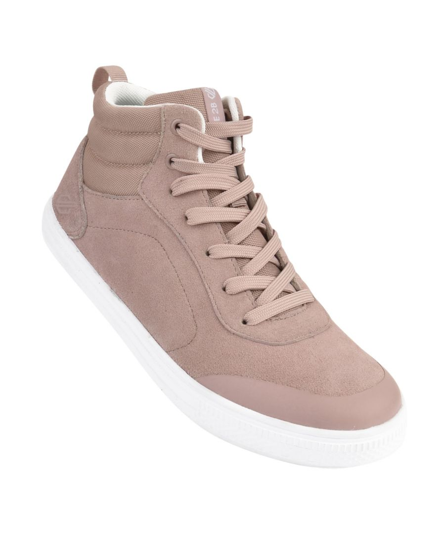 Image for Dare 2B Womens/Ladies Cylo High Top Suede Trainers