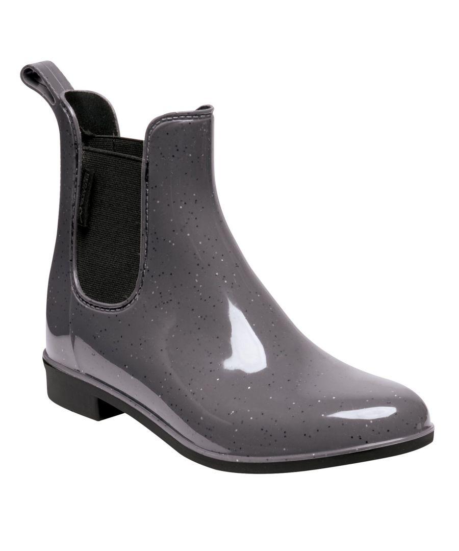 Image for Regatta Great Outdoors Womens/Ladies Harriett Ankle Wellingtons (Magnet Grey/Black)