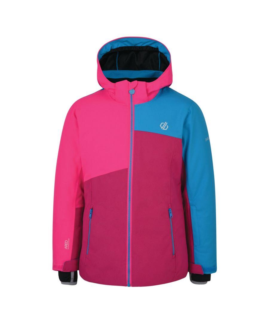 Image for Dare 2B Childrens/Kids Chancer Ski Jacket (Fuchsia/Cyber Pink)