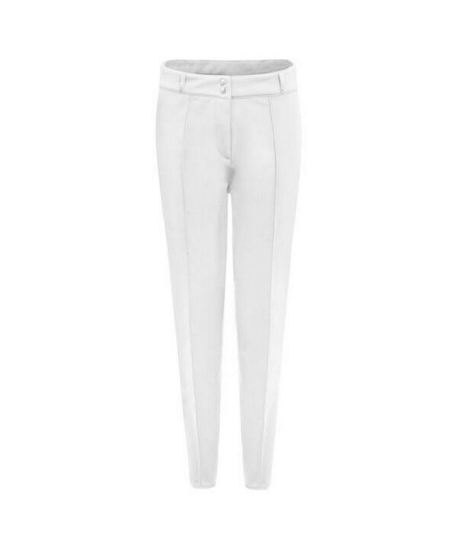 Image for Dare 2b Womens Slender Ski Trousers (White)
