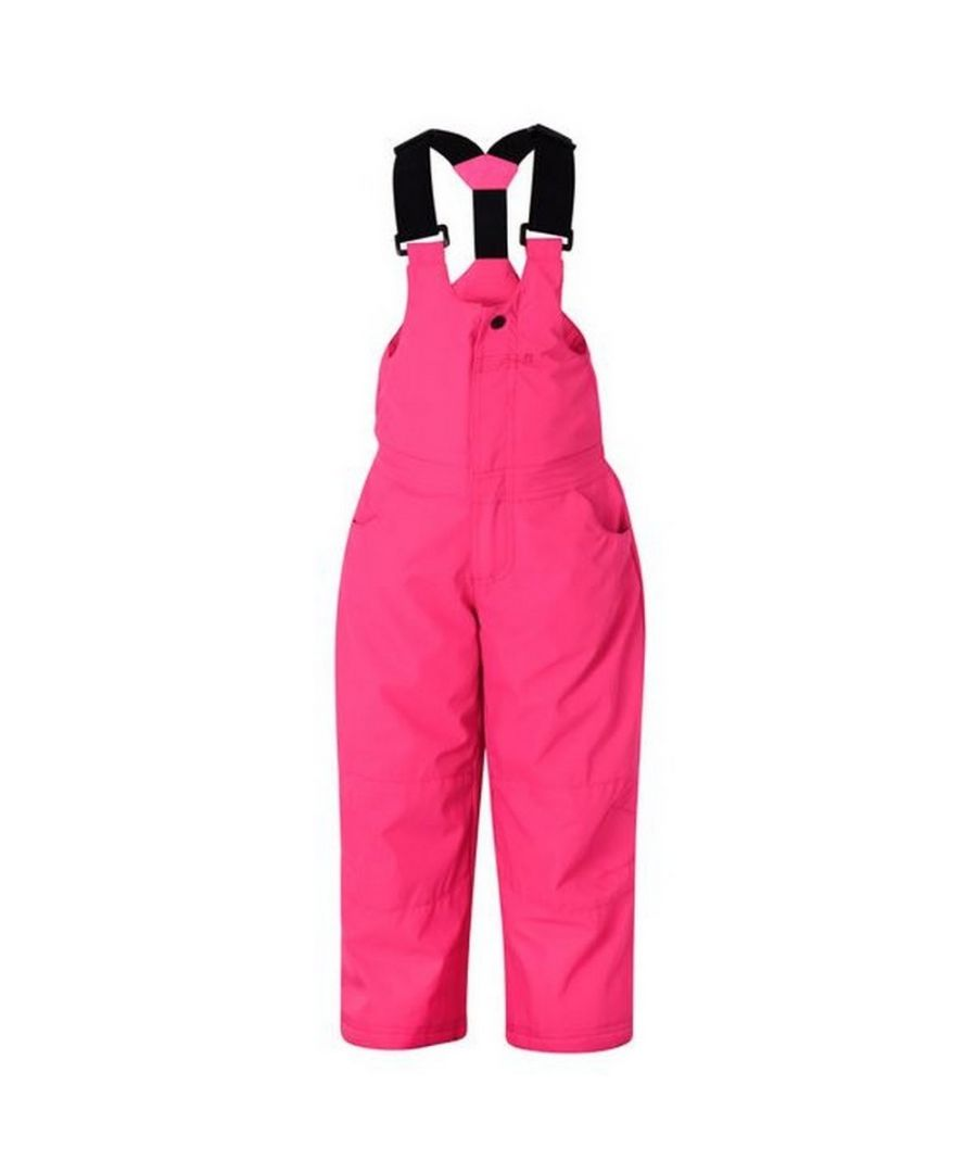 Image for Dare 2b Girls Teeny Salopette Ski Trousers (Cyber Pink)
