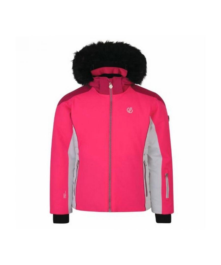 Image for Dare 2b Girls Vast Ski Jacket (Cyber Pink/Fuchsia Pink)