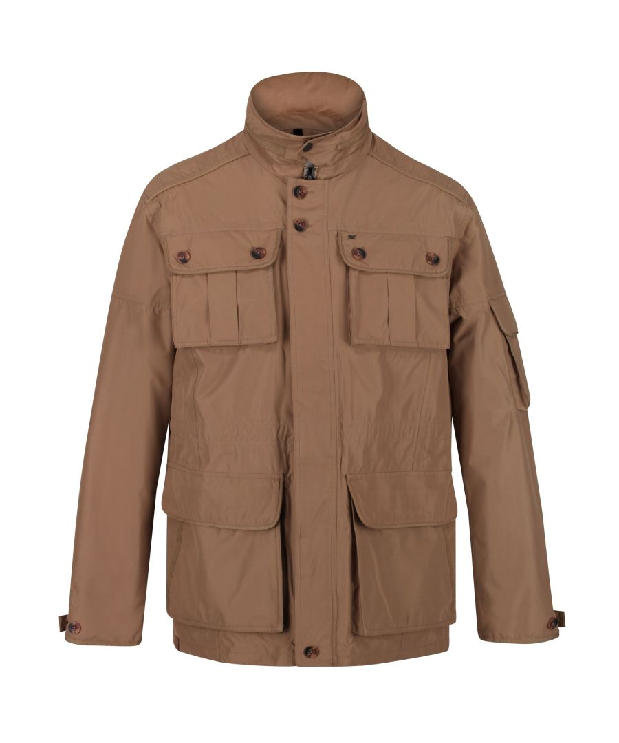 Image for Regatta Mens Elmore Waterproof Cargo Jacket