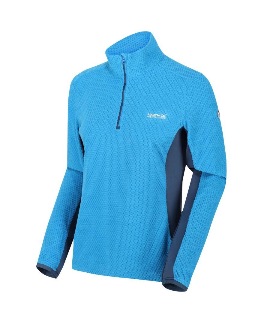 Image for Regatta Womens/Ladies Highton Lightweight Half Zip Fleece