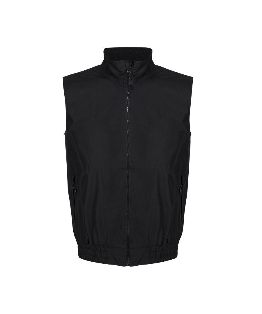 Image for Regatta Mens Dover Fleece Lined Bodywarmer (Black)