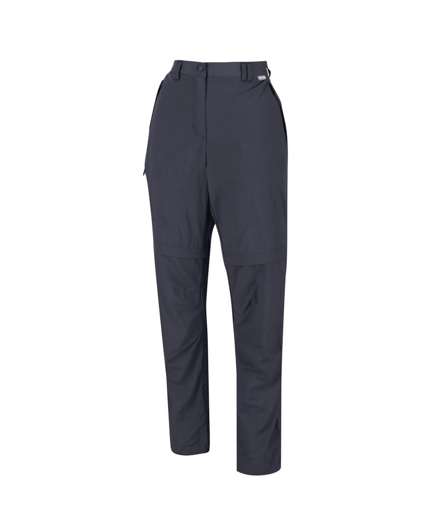 Image for Regatta Womens/Ladies Chaska II Zip Off Trousers