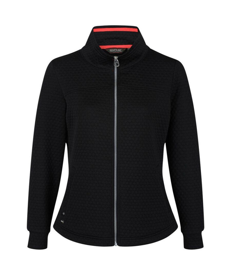 Image for Regatta Womens/Ladies Sulola Full Zip Quilted Fleece