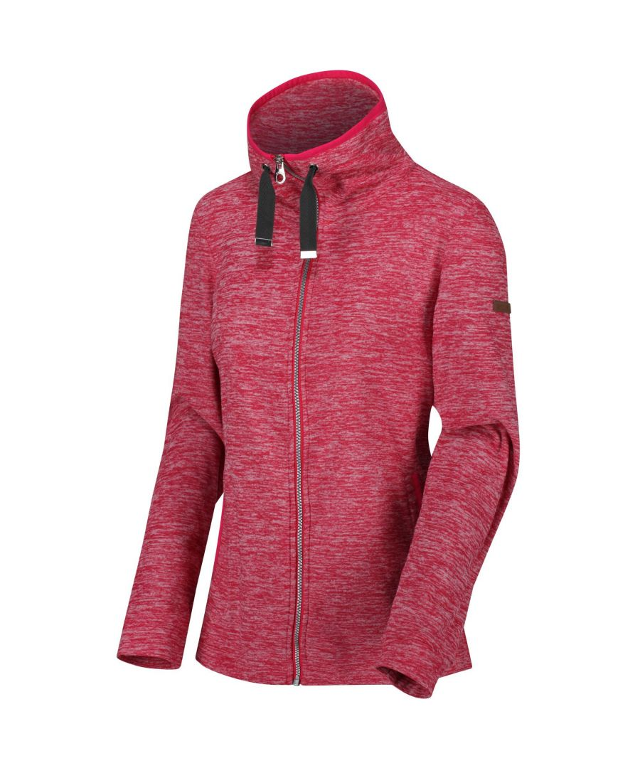 Image for Regatta Womens/Ladies Evanna Full Zip Lightweight Fleece