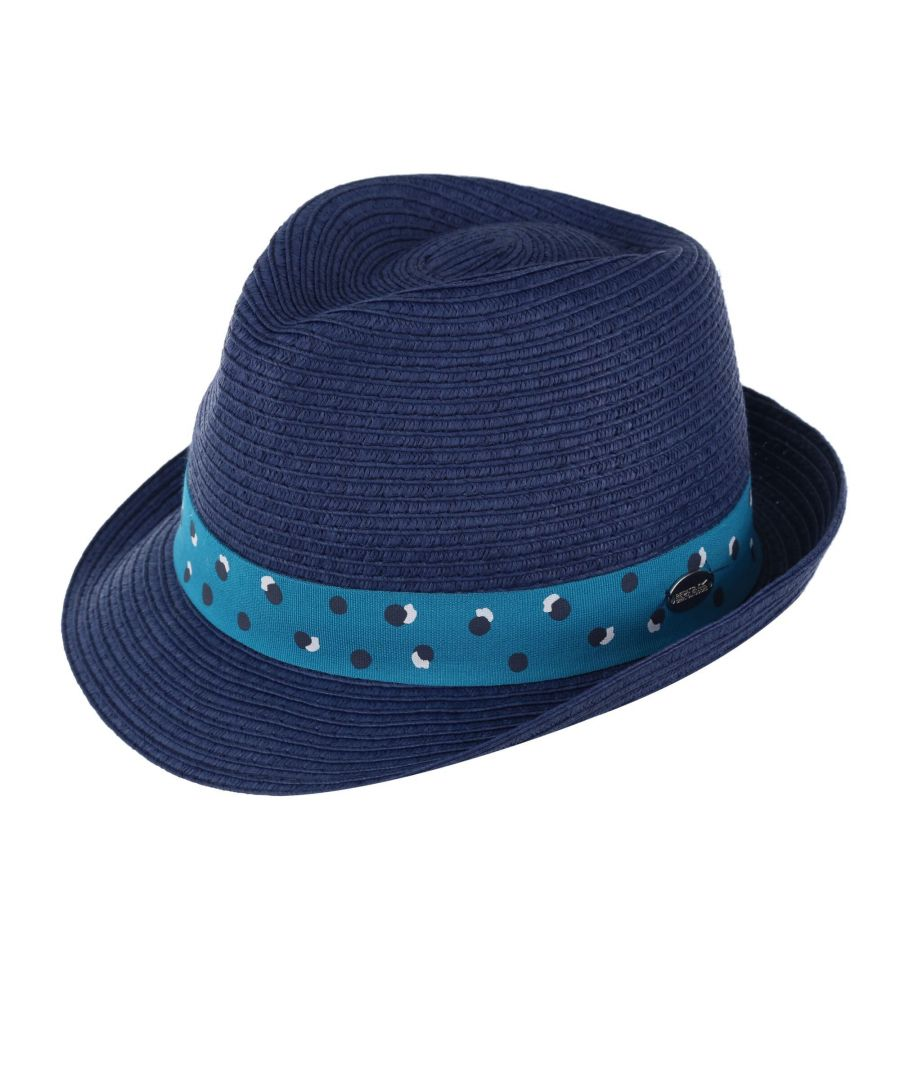 Image for Regatta Womens/Ladies Taalia II Hat (Navy/Ceramic Blue)