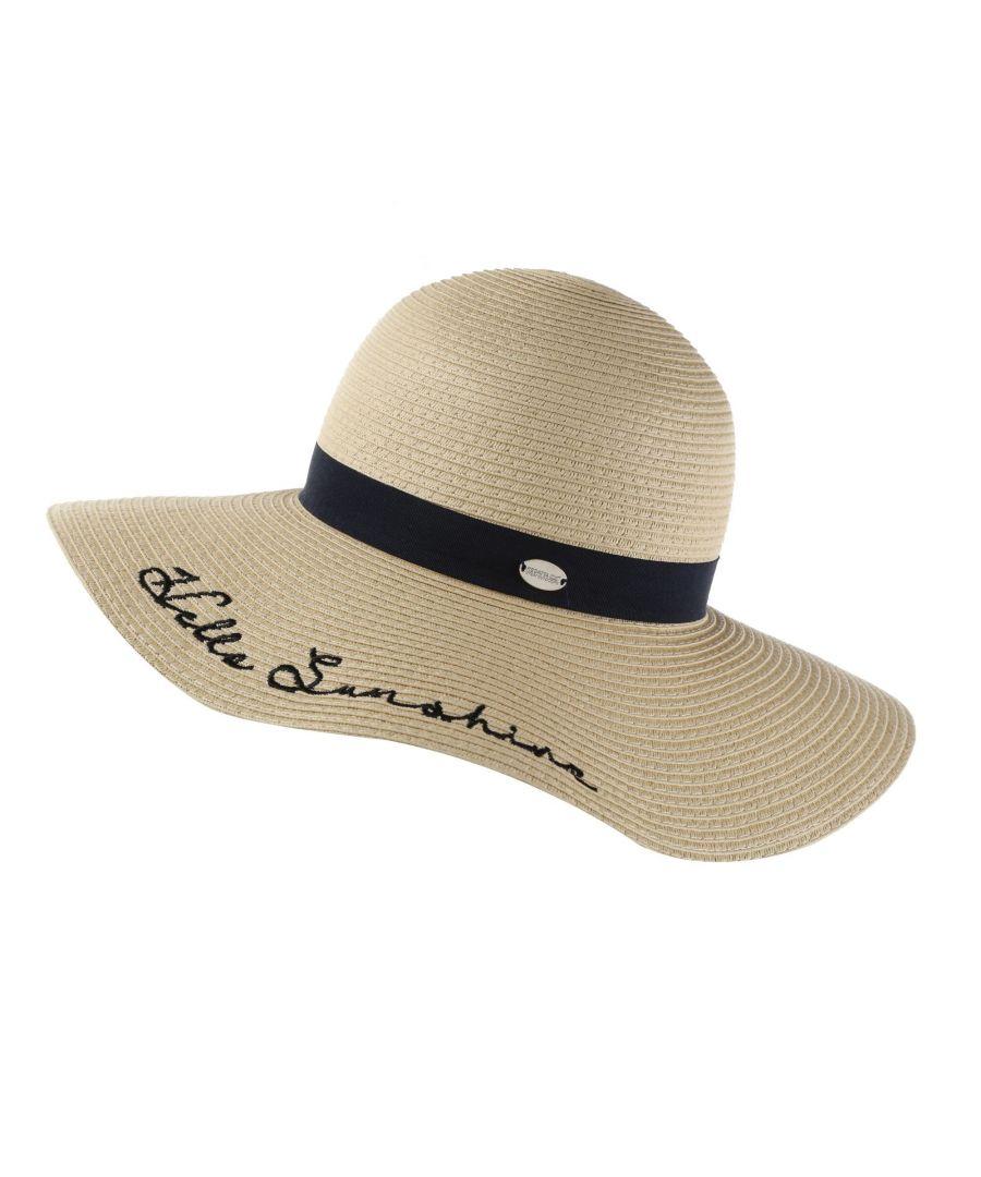 Image for Regatta Womens/Ladies Taura II Sun Hat (Calico/Navy)