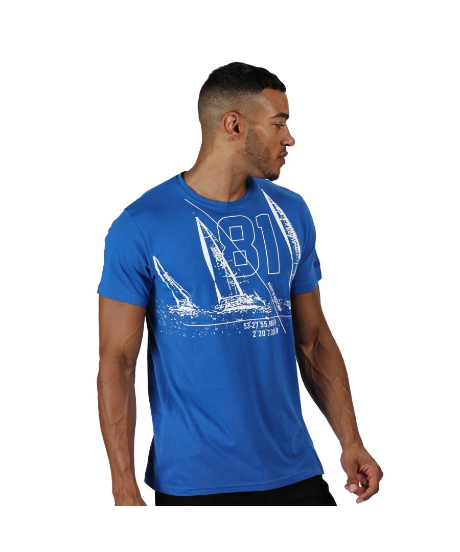 Image for Regatta Mens Cline IV Graphic T-Shirt