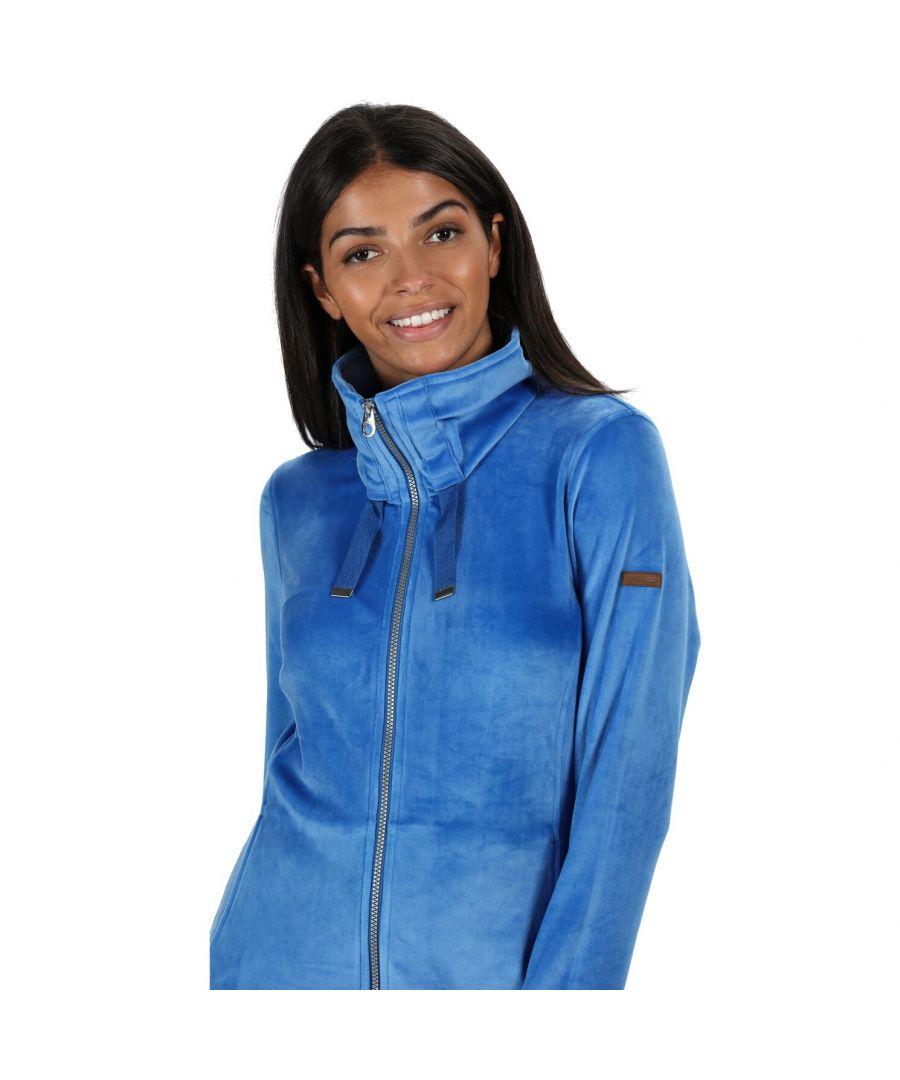 Image for Regatta Womens/Ladies Odelia Full Zip Heavyweight Fleece