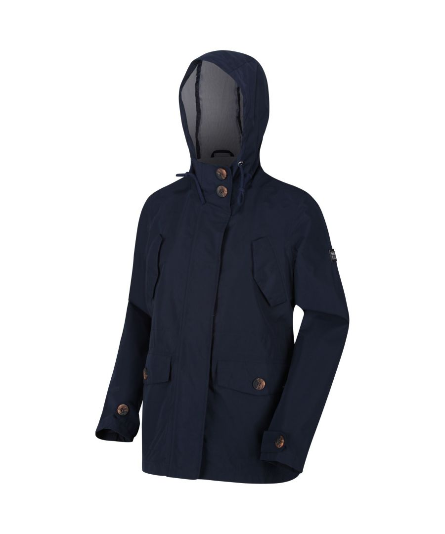 Image for Regatta Womens/Ladies Ninette Waterproof Jacket