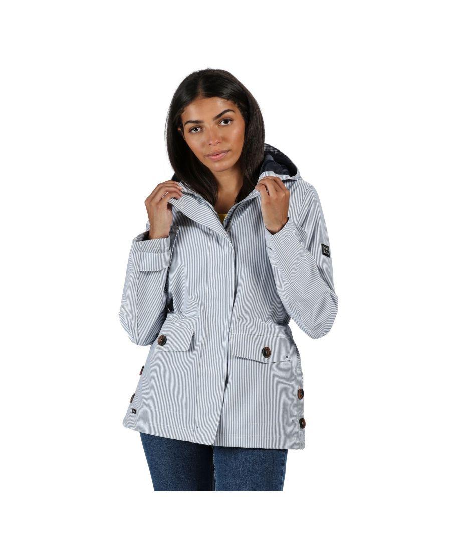 Image for Regatta Womens/Ladies Ninette Waterproof Jacket