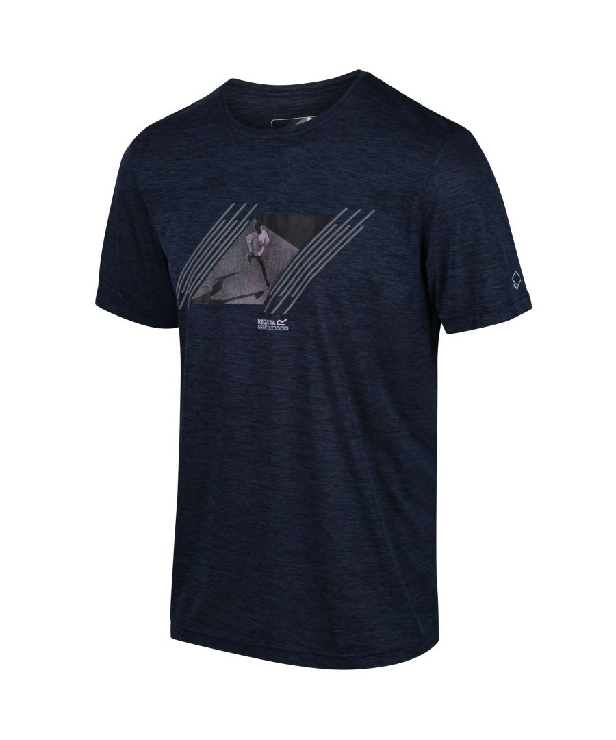 Image for Regatta Mens Fingal V Graphic Active T-Shirt